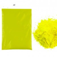 Пигмент 20 Yellow green (100g)